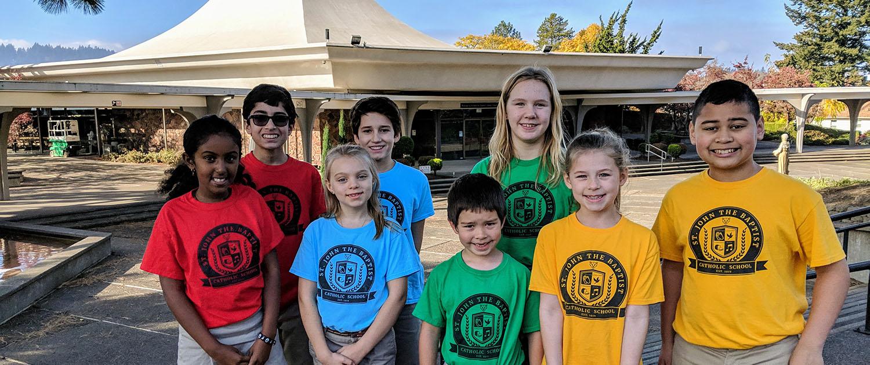 Preescolar, primaria y secundaria | Escuela Católica St. John the Baptist en Portland, Oregon